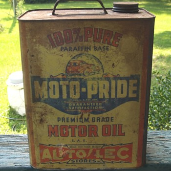 Moto-Pride 2 Gal. Oil Can