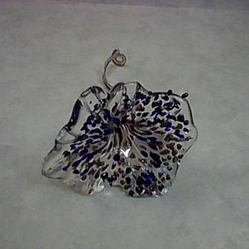 CONFETTI GLASS FLOWER - Art Glass