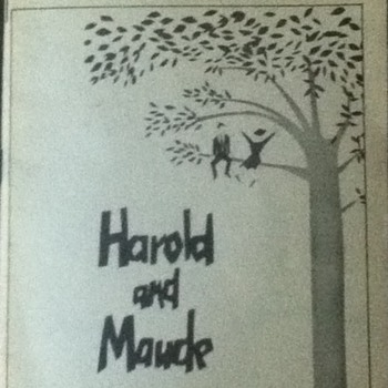 """Harold and Maude"" Playbill - Paper"