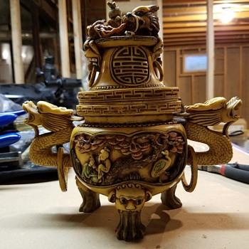 Vintage Japanese Censer?