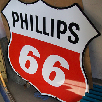 "48"" Phillips 66 sign DSP"