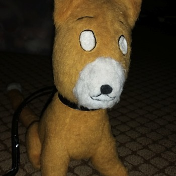 Mystery Stuffed Sandy Dog (Little Orphan Annie)