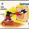 "1983 - Grenada ""Disney/Olympics"" Postage Stamps"