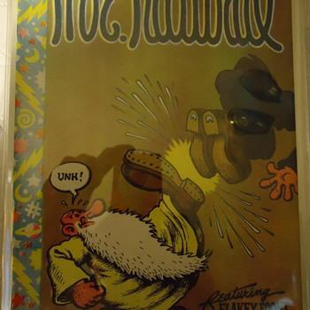 MY BARACUDA,MY WIFES HAND MADE SHAWNEE DEARSKIN VEST - Comic Books