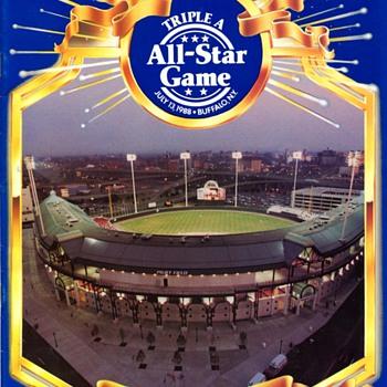 Baseball programs... - Baseball