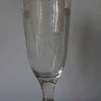 Georgian Ale Glass - Art Glass