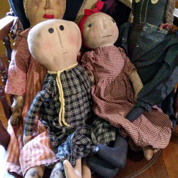 primitive dolls
