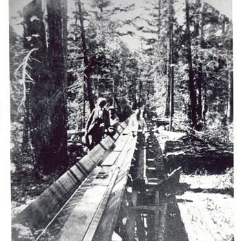 Boldercreek to Felton flume - Photographs