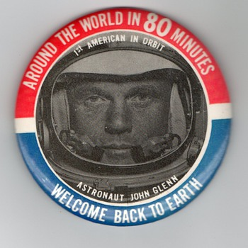 John Glenn Collection (Part 1) - Medals Pins and Badges