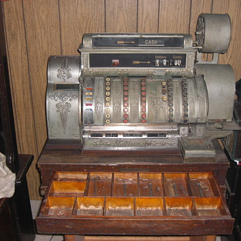 1909 CASH REGISTER - Coin Operated