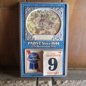 Pabst Calendar