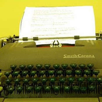 My Smith Corona Typewriter