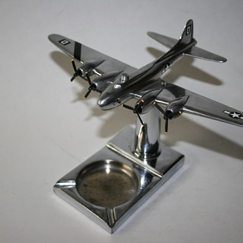 100th Bomb Group B-17 Ashtray 8th AAF Trench Art