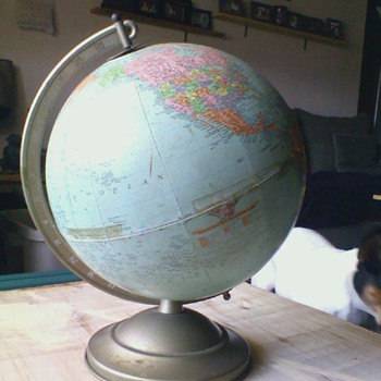 Antique Globe 1960's