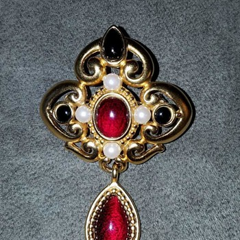 Monet Brooch - Costume Jewelry