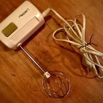 Miniature Philips Vintage Hand Mixer - Tiny!