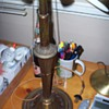 1907 Bradley & Hubbard Brass Lamp