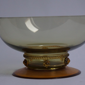 German Bowl - Art Glass