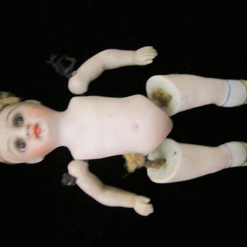 "Bique 5"" doll marked 1845"