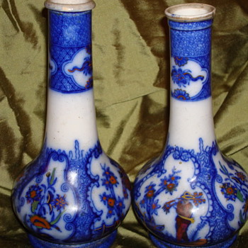 Two Uk / Import Vases ? - Asian