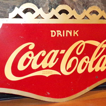 1937 Coca-Cola Flange Sign - Coca-Cola