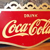 1937 Coca-Cola Flange Sign