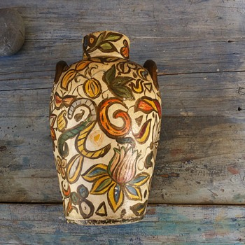 MOM´S EARTHENWARE VASE - Art Pottery