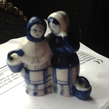 "Russian "" Gzhel"" Faience - Figurines"