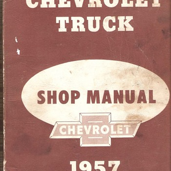 57&#039; Chevrolet Truck Shop Manual
