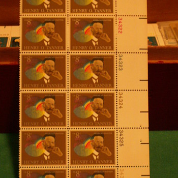 1973 Henry O. Tanner American Painter 8¢ Stamps