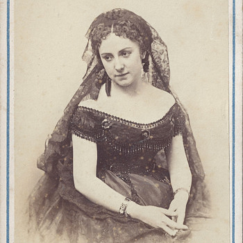 Controversial Actress Adah Isaacs Menken CDV by A. Liebert and Co. of Paris, France
