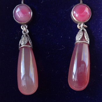 bernard Instone Earrings - Art Deco