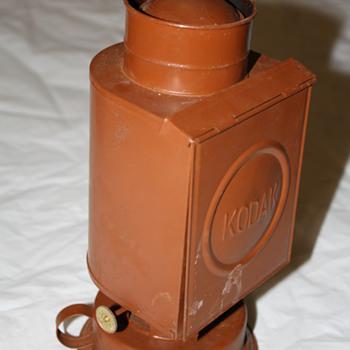 Kodak Kerosense Darkroom Lamp