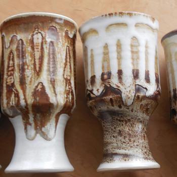 Mamo Tessema, Bennington Potters- His/hers goblets