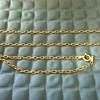 585/14K Gold Chain, Thrift Shop Find 3,95 Euro ($4.21)