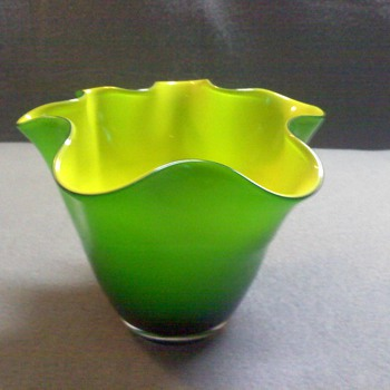 GLASS BOWL - Art Glass