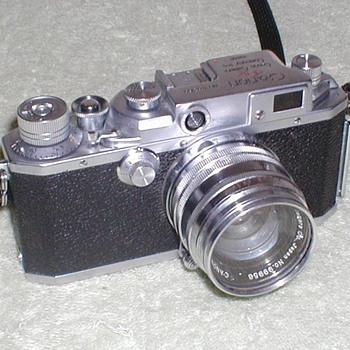 Canon Model II-S 35mm Camera