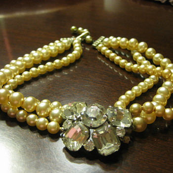 Great Grandmother's pearls - Costume Jewelry