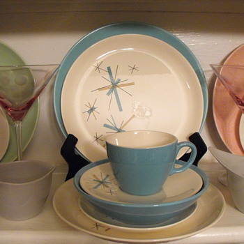 Vintage Salem North Star Dinnerware