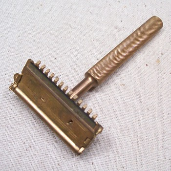 Valet safety razor