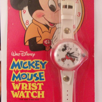 Durham Industries Mickey Watch 1978