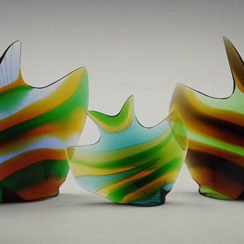 Exbor fish - Art Glass