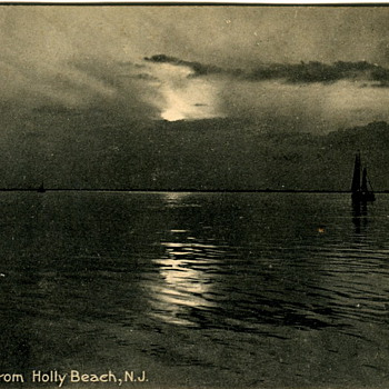 Holly Beach, New Jersey Postcard