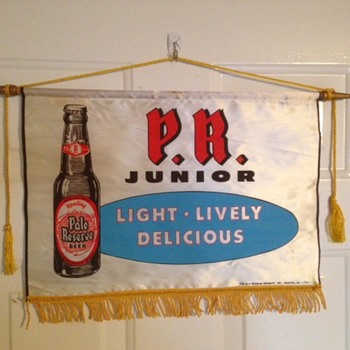 PR Junior Beer Silk Banner