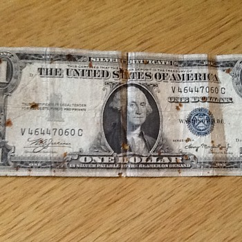 How much would my 1935A one dollar bill be worth?