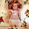 Early 1940s Vogue Ginny Toddles Composition Doll
