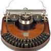 Hammond 1 typewriter - 1881