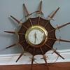 Starburst United Clock