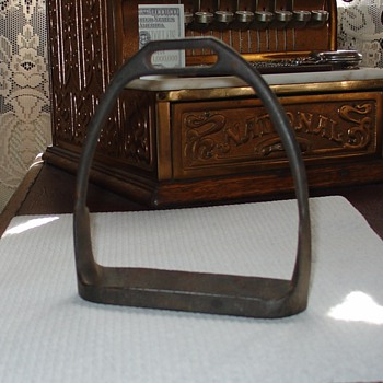 U.S. Calvary Iron Western Saddle Stirrup
