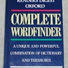 1996 Oxford Complete Wordfinder